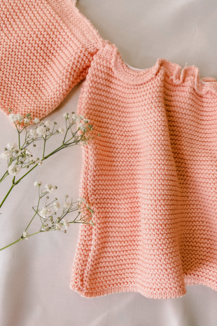 Knitwear Top Offshoulder
